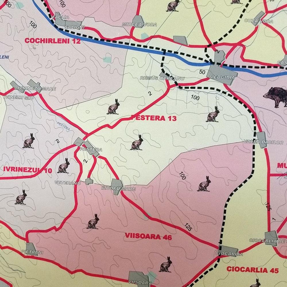 Fondul de vânătoare nr. 13 Peștera - AJVPS Constanța