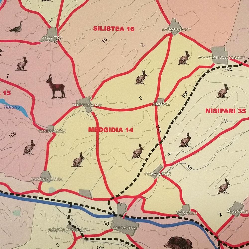 Fondul de vânătoare nr. 14 Medgidia - AJVPS Constanța