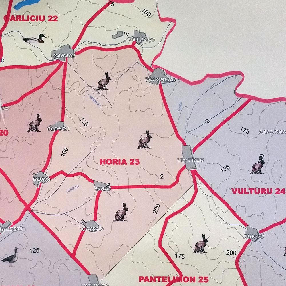 Fondul de vânătoare nr. 23 Horia - AJVPS Constanța
