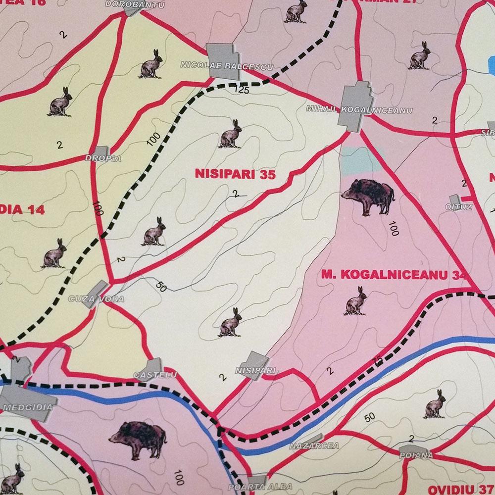 Fondul de vânătoare nr. 35 Nisipari - AJVPS Constanța