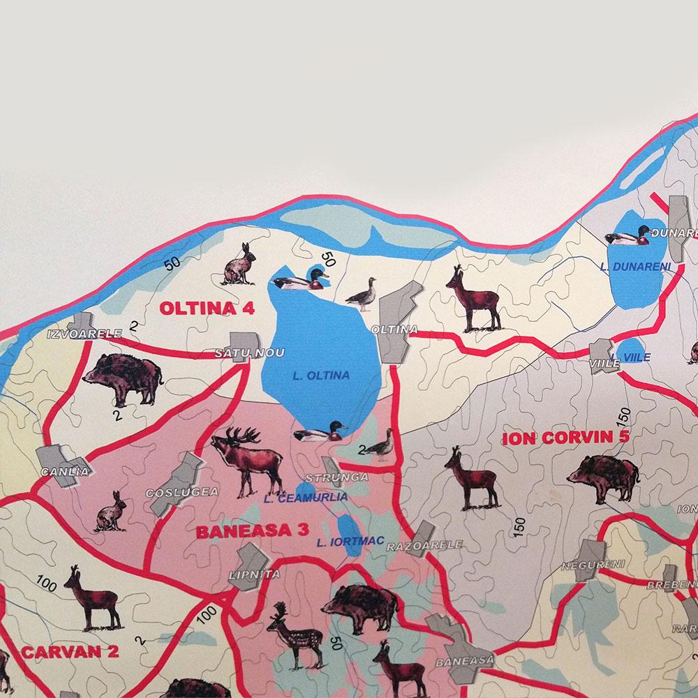 Fondul de vânătoare nr. 4 Oltina - AJVPS Constanța