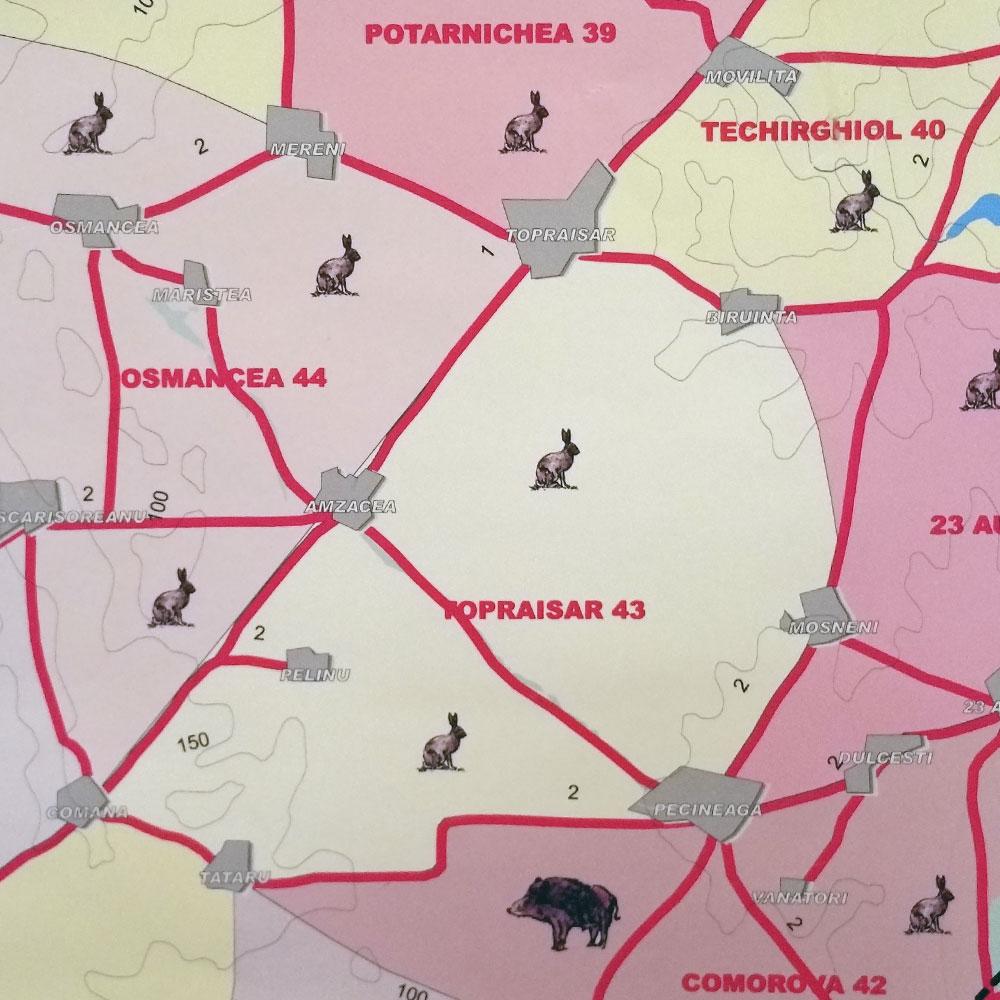Fondul de vânătoare nr. 43 Topraisar - AJVPS Constanța