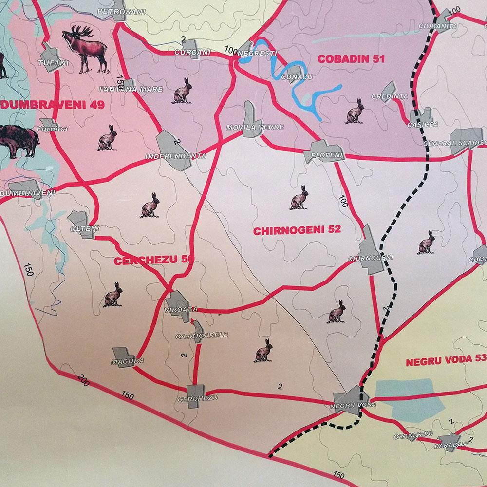 Fondul de vânătoare nr. 50 Cerchezu - AJVPS Constanța